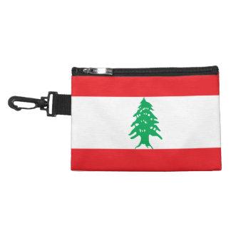 Lebanon Flag Accessory Bag