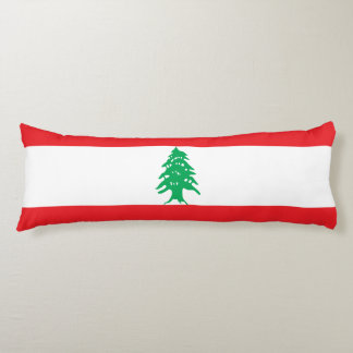 Lebanon Flag Body Pillow