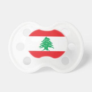 Lebanon Flag Booginhead Pacifier