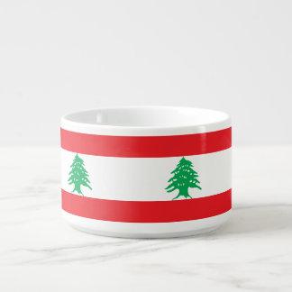 Lebanon Flag Bowl