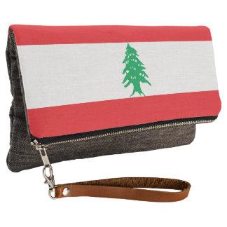 Lebanon Flag Clutch