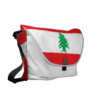 Lebanon Flag Courier Bag