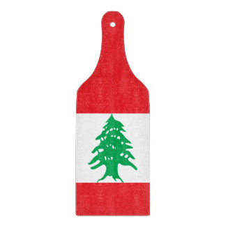 Lebanon Flag Cutting Board