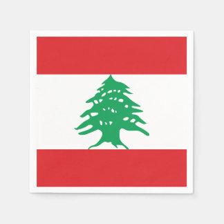 Lebanon Flag Disposable Napkin