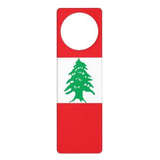 Lebanon Flag Door Hanger