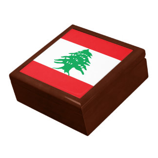 Lebanon Flag Gift Box