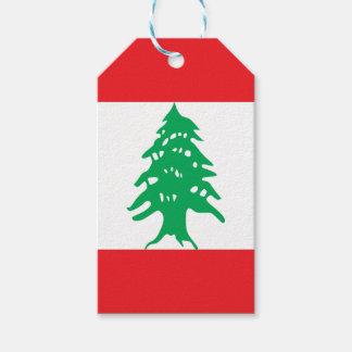Lebanon Flag Gift Tags