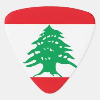 Lebanon Flag Guitar Pick