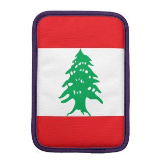 Lebanon Flag iPad Mini Sleeve