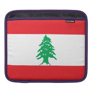 Lebanon Flag iPad Sleeve