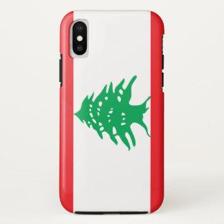 Lebanon Flag iPhone X Case