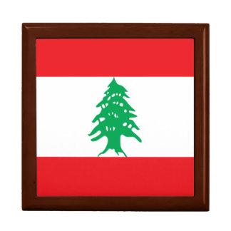 Lebanon Flag Jewelry Boxes