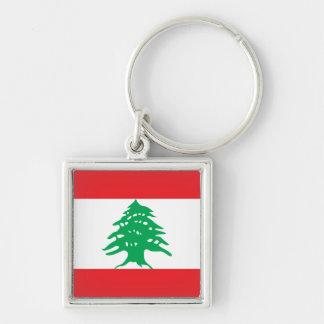 Lebanon Flag Keychain