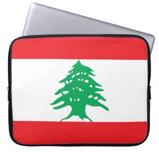 Lebanon Flag Laptop Sleeve