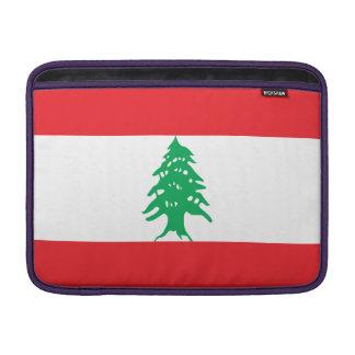 Lebanon Flag MacBook Sleeve
