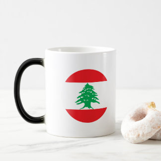 Lebanon Flag Magic Mug