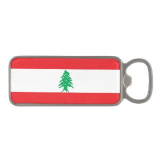 Lebanon Flag Magnetic Bottle Opener