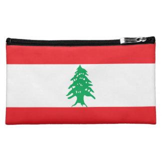 Lebanon Flag Makeup Bag