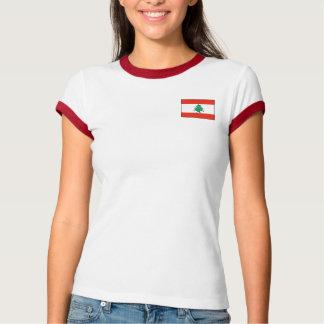 Lebanon Flag + Map T-Shirt