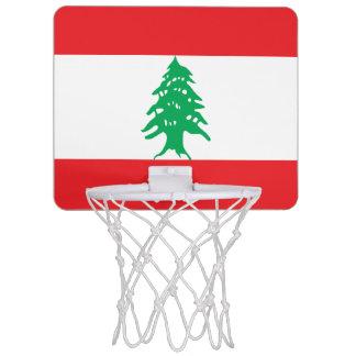 Lebanon Flag Mini Basketball Hoop