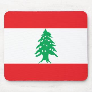 Lebanon Flag Mouse Pad