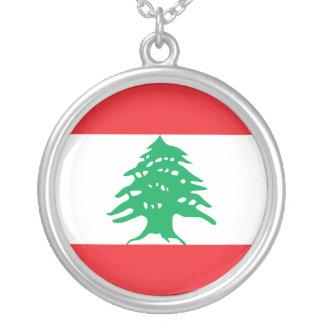 Lebanon Flag Necklace