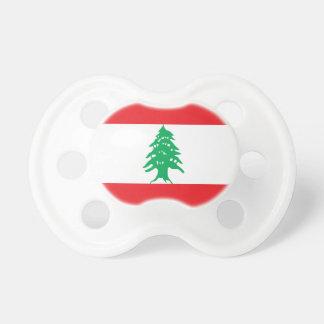 Lebanon Flag Pacifier