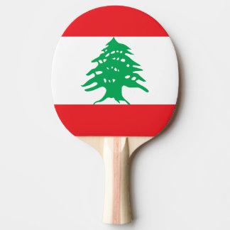 Lebanon Flag Ping Pong Paddle