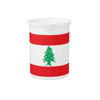 Lebanon Flag Pitcher