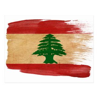 Lebanon Flag Postcards