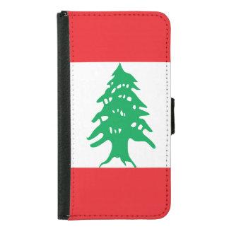 Lebanon Flag Samsung Galaxy S5 Wallet Case