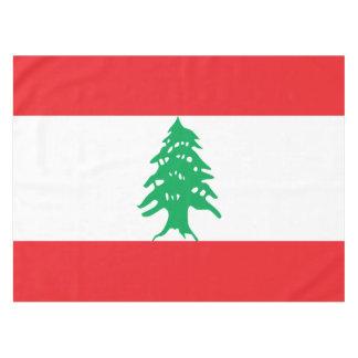 Lebanon Flag Tablecloth