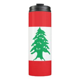 Lebanon Flag Thermal Tumbler