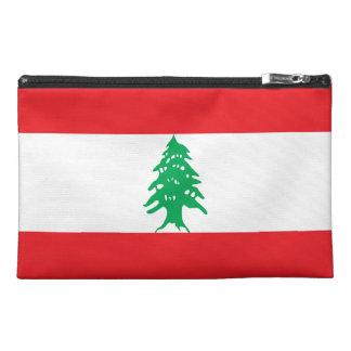 Lebanon Flag Travel Accessory Bag