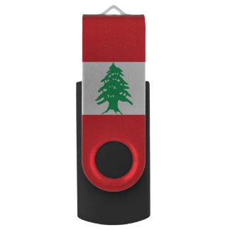 Lebanon Flag USB Flash Drive