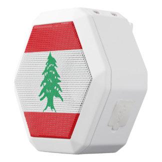 Lebanon Flag White Bluetooth Speaker
