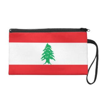 Lebanon Flag Wristlet