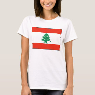 Lebanon Flag x Map T-Shirt