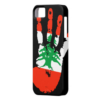 Lebanon Handprint iPhone 5 Cover