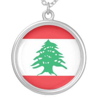 Lebanon, Latvia Silver Plated Necklace