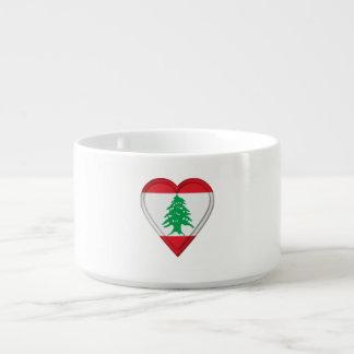 Lebanon Lebanese Flag Bowl