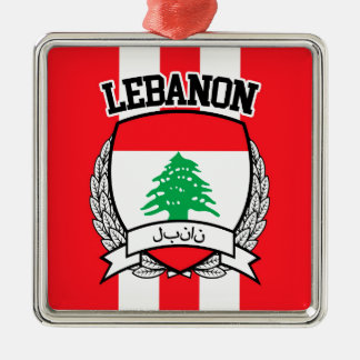 Lebanon Metal Ornament