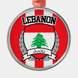 Lebanon Metal Ornament
