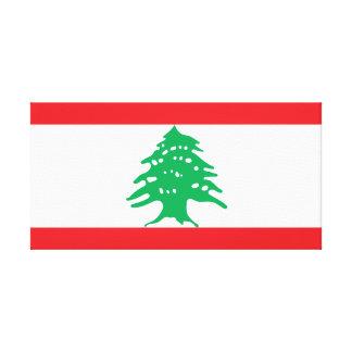 Lebanon National World Flag Canvas Print