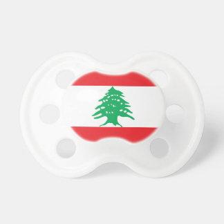 Lebanon National World Flag Pacifier
