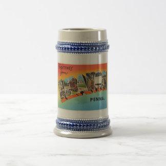 Lebanon Pennsylvania PA Vintage Travel Souvenir Beer Stein