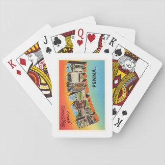 Lebanon Pennsylvania PA Vintage Travel Souvenir Playing Cards
