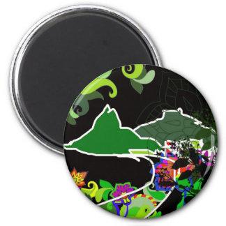 Leblon - Ipanema Rio De Janeiro Magnet
