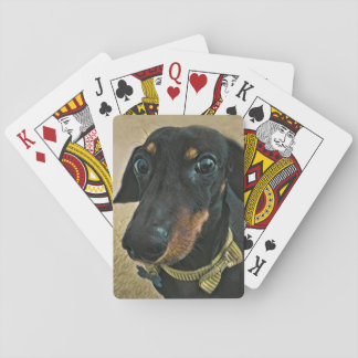 LeBron the Dachshund Playing Cards