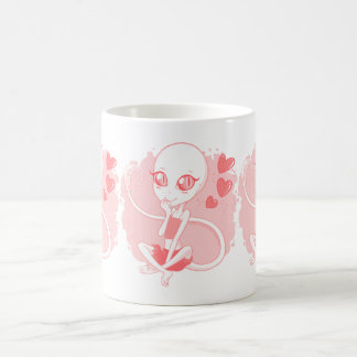 L'écarlate attaque (plus de styles disponibles) mug blanc